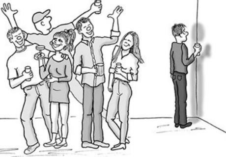 Compreender o incómodo da ansiedade social