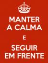 manter a calma
