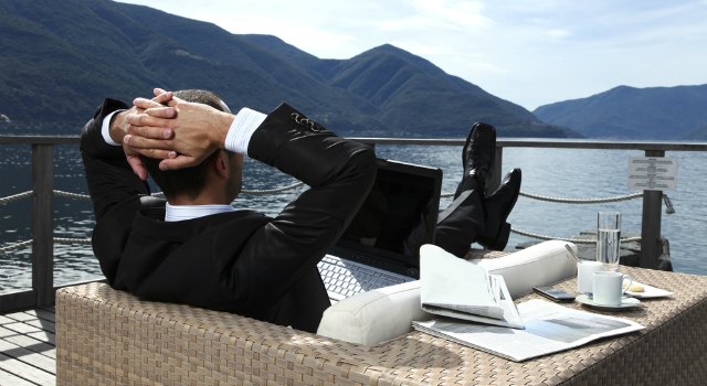 relaxar do trabalho