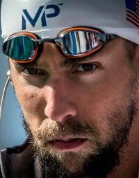 O poder de concentração de Michael Phelps