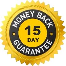 Garantia incondicional de 15 dias ou dinheiro de volta!