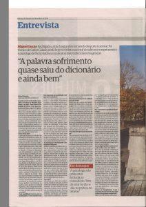 Entrevista ao Jornal de Leiria sobre o trabalho de preparação mental com atletas