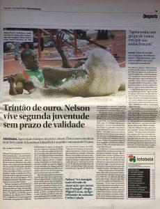 Entrevista ao Diário de Notícias: Opinião sobre o renascimento do atleta Nelson Évora