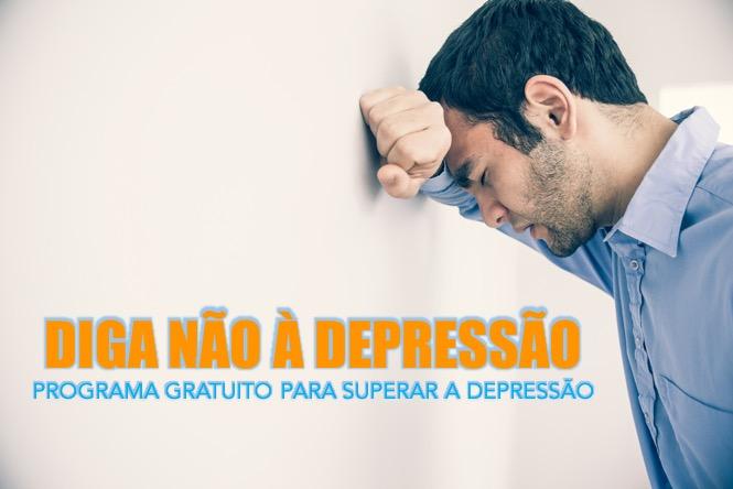 """Obtenha Grátis o Programa """"Diga Não À Depressão"""""""