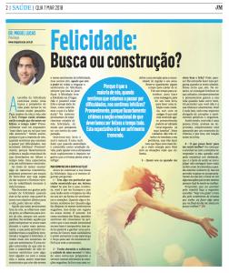 Felicidade: Busca ou construção