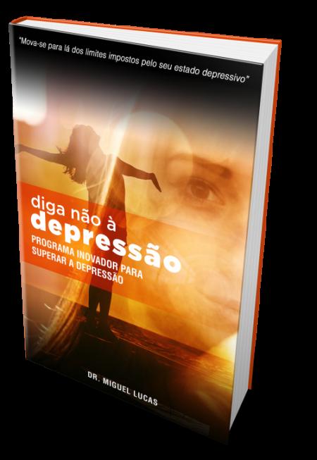 Capa - Diga não à Depressão