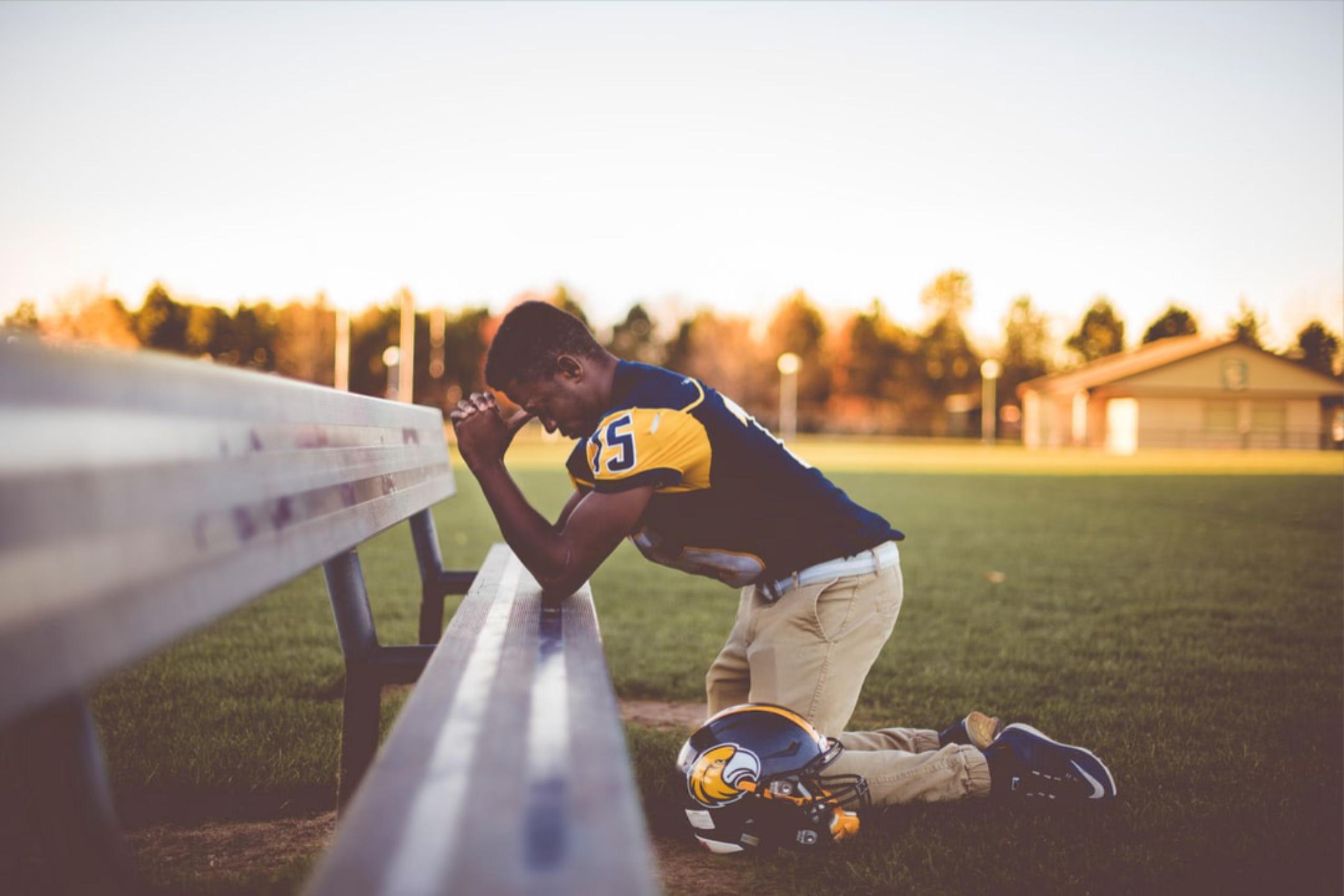 Deixe os jovens atletas ficarem desapontados, isso ajuda-os a longo prazo